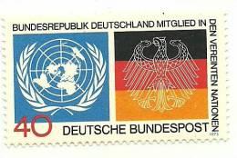 1973 - Germania 628 Ammissione All'ONU, - ONU