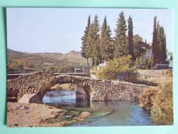 LOJA ( Granada ) - Puente Romano En RIO FRIO - Granada