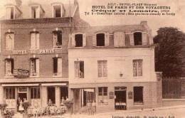 80 AULT-ONIVAL-PLAGE ( Somme )   HOTEL DE PARIS  ET DES VOYAGEURS . - Ault