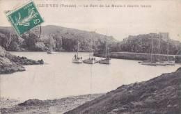 ¤¤  -   ILE D'YEU  -  Le Port De La Meule à Marée Haute  -  Voiliers , Bateaux De Pêche    -  ¤¤ - Ile D'Yeu