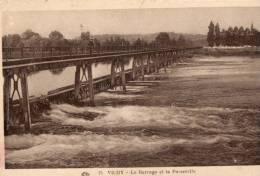 VICHY   Le Barrage Et La Passerelle - Vichy