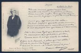 *** TOULON Rare Cpa Souvenir Festo De Santo Estello 1908 - Inauguration Buste SENES La SINSE - Toulon