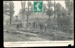 80 HEM HARDINVAL / Thorel Frères, Maréchaux Constructeurs / - Andere Gemeenten
