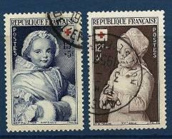 """FR YT 914 & 915 """" Croix-Rouge """" 1951 Oblitéré - Usati"""