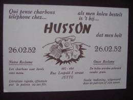 JETTE - Maison HUSSON Rue Léopold I 402-404 - Gas, Garage, Oil