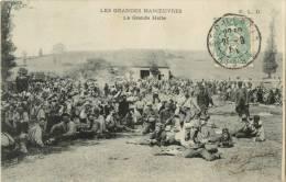 LES GRANDES MANOEUVRES - LA GRANDE HALTE - Manoeuvres