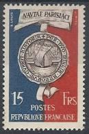 1951 FRANCIA SIGILLO DI PARIGI MH * - FR601 - France