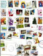 AUSTRALIA LOT69 MIXTURE OF50+ USED STAMPS SOME 2010/12 & NICE POSTMARKS FROM MAURITIUS ETC.READ DESCRIPTION!! - Timbres
