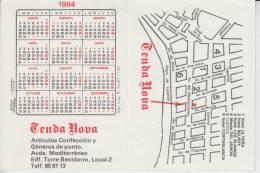 KALENDER 1984 BENIDORM / E - Kalender