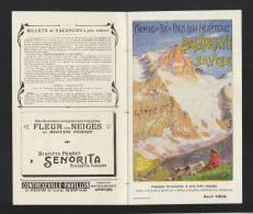Chemins De Fer De Paris Lyon Mediterranee Dauphine Savoie 1904 - Europa