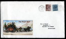 Great Britain 1985, Letter / Cover, The Hyde To Alkmaar - Holland - 1952-.... (Elizabeth II)