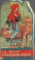 JOLI PETIT LIVRE ANCIEN  PETIT CHAPERON ROUGE - 17X7cm - SUPERBES ILLUSTRATIONS DE M. BERTY - Autres