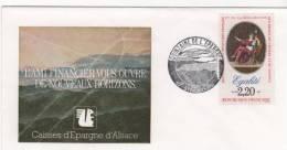 Envellope Quinzaine De L´epargne 21/10/89 Bi Centenaire De La Révolution Francaise - 1961-....