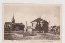 Allenjoie - Le Temple - Le Monument - La Mairie - Frankrijk