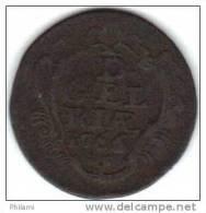 COINS PAYS BAS, GERDERLAND KM 93 1DUIT 1758 (DP36) - [ 1] …-1795 : Période Ancienne