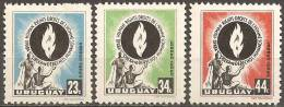 Uruguay,Human Rights 1958.,MNH - Uruguay