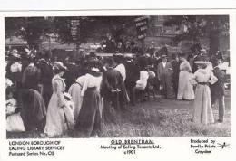 OLD BRENTHAM -MEETING OF EALING TENANTS.  PAMLIN - London Suburbs