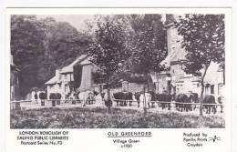 OLD GREENFORD - VILLAGE GREEN.  PAMLIN - London Suburbs