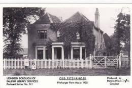 OLD PITSHANGER -PITSHANGER FARM HOUSE 1902.  PAMLIN - London Suburbs