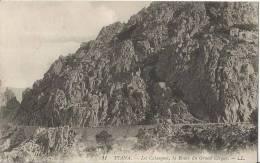 CARTE POSTALE PHOTO ORIGINALE ANCIENNE : PIANA ; LES CALANCHES ; ROUTE DU GRAND CIRQUE ; CORSE DU SUD (20) (2A) - Sonstige Gemeinden