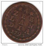 COINS PAYS BAS, ZEELAND KM 105  1DUIT 1793. (DP42) - [ 1] …-1795 : Période Ancienne