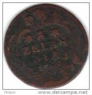 COINS PAYS BAS, ZEELAND KM 101  1DUIT 1788. (DP41) - [ 1] …-1795 : Période Ancienne