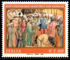 PIA - ITALIA - 2004 : 1700° Del Martirio Di San Giorgio   - (SAS  2760) - 6. 1946-.. Repubblica