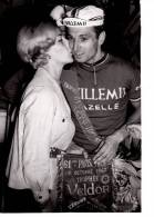 CYCLISME PHOTO DE PRESSE DE RIK VAN LOOY PARIS TOURS 1967 - Cycling