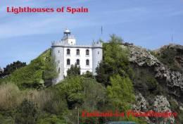 Lighouses Of Spain - Euskadi/La Plata-Pasajes Postcard Collector - Faros