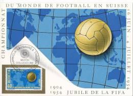 5462 - Carte Manimum Match D'Ouverture Lausanne 16.06.1954 - 1954 – Suisse