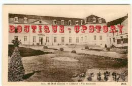 23 - GUERET - Edition MHA N° 0925 < Hopital Vue D'ensemble - Dos Scané - Guéret