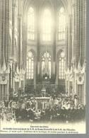 RENNES.....souvenir  Du Double Couronnement De ND De Bonne Nouvelle 25 MARS 1908. Intérieur De La Basiliq...14 X 9 - Christianity