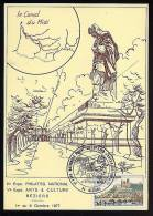 PHILAT'EG NATIONAL 1977 BEZIERS Canal Du Midi - Marcophilie (Lettres)