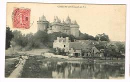 COMBOURG ( Ille-et-Vilaine )  Le Château - Combourg