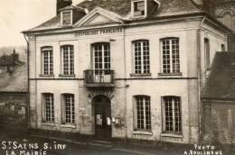 SAINT SAENS LA MAIRIE Photot A Boulingue - Saint Saens