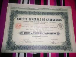 GENERALE DE CHAUSSURES(garousse Et Lefevre)1922 - Shareholdings