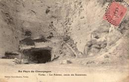 51 Vertus, Les Faloises , Entrée Des Souterrains - Vertus