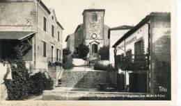 CPA 64 FRONTIERE FRANCO ESPAGNOLE L EGLISE DE BIRIATOU 1947 - France