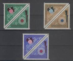 Egypt (1962) Yv. 544/49  /  Shooting - Tennis Table - Sports - Archeologie