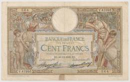 100 FRANCS LUC OLIVIER MERSON 23.11.1933 - 1871-1952 Circulated During XXth