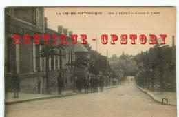 23 - GUERET - Edition PM 2040 < Avenue De Laure + Cachet Militaire Des Cuirassiers De Remonte - Dos Scané - Guéret