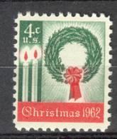 USA UNITED STATES 1962 MCHL 834  MNH ** POSTFRIS NEUF - Etats-Unis