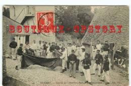 23 - GUERET - Visuel Unique Sur D* - Edition ND N° 49 < Battage Des Couvertures à La Caserne Du Colombier - Dos Scané - Guéret