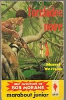 BOB MORANE...MARABOUT JUNIOR....N° 122..L ORCHIDEE NOIRE..DIVERS TITRES A SUIVRE - Avontuur