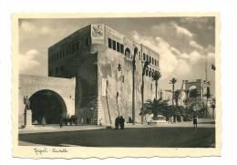 LIBIA--TRIPOLI-- OCCUPAZIONE  ITALIANA-- CASTELLO  ANIMATA  FOT. CAV. BRAGONI - Postcards