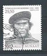 Groënland 2012, N°601 Oblitéré, Explorateur Hans Hendrikj - Greenland