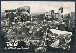 12-1069 Thale Der Schlüssel Zum Bodetal (Normalformat, 1962) - Bergtheater, Hubertusstrasse U.a. - Thale