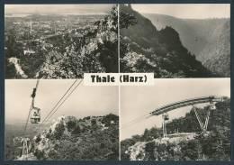 12-1070 Thale / Harz, Personenschwebebahn (Normalformat, 1973) Schwebebahn - Thale