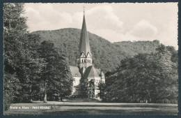 12-1075 Thale / Harz, Petrikirche (Normalformat, 1963) - Petri-Kirche - Thale