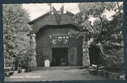 12-1077 Thale / Harz, Walpurgishalle (Normalformat, 1963) - Hexentanzplatz - Thale